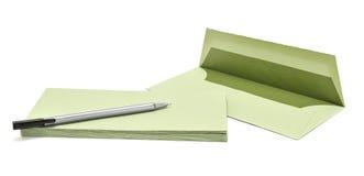 Stift und Abdeckung Lizenzfreies Stockbild
