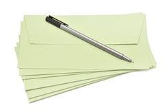 Stift und Abdeckung Lizenzfreie Stockbilder