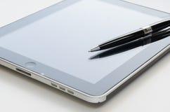 Stift und teblet Stockfotos