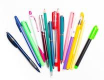 Stifte und Bleistifte Lizenzfreie Stockfotografie
