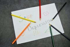 Stifte und Bleistifte auf dem Tisch Mehrfarbige Bleistifte Lizenzfreies Stockbild