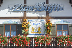 Stiftl Hut at Octoberfest Royalty Free Stock Photo