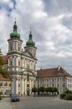 Stiftsbasilika Waldsassen, Tyskland Arkivbild