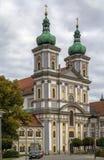 Stiftsbasilika Waldsassen, Tyskland Arkivfoton