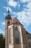 Stiftskirche (συλλογική εκκλησία): Νότια όψη Στοκ φωτογραφίες με δικαίωμα ελεύθερης χρήσης