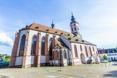 Stiftskirche Church Baden-Baden Royalty Free Stock Image