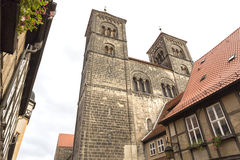 The Stiftskirche church in Quedlinburg, Germany Stock Photo