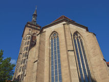 Stiftskirche Church, Stuttgart Stock Images