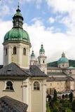 Stiftskirche Heilige Peter en Kathedraal Salzburg oostenrijk royalty-vrije stock foto's
