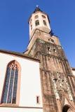 Stiftskirche i Baden-Baden Arkivbilder