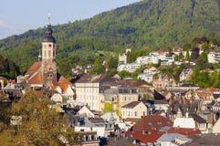 Stiftskirche i Baden-Baden Arkivfoton