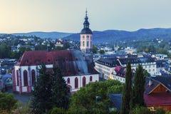 Stiftskirche i Baden-Baden Royaltyfri Foto