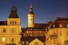Stiftskirche i Baden-Baden Royaltyfri Fotografi