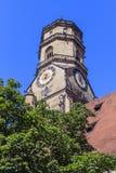 Stiftskirche i Stuttgart, Tyskland Royaltyfri Fotografi
