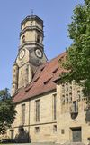 Stiftskirche south side, Stuttgart Stock Images