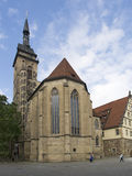 Stiftskirche, Stuttgart Royalty Free Stock Image