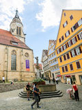 Stiftskirche in Tubingen, Baden-Wurttemberg, Germany Stock Photography