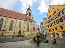 Stiftskirche in Tubingen, Baden-Wurttemberg, Germany Royalty Free Stock Images