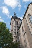 Stiftskirche (Uczelniany Kościół): Est Wierza Zdjęcia Royalty Free