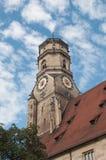 Stiftskirche (Uczelniany Kościół): Północy Wierza Obrazy Royalty Free