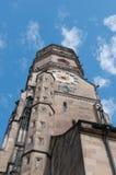 Stiftskirche (Uczelniany Kościół): Północy Wierza Zdjęcie Stock
