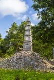 Stiftturm im alten Viertel von Hanoi Lizenzfreie Stockfotos