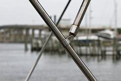 Stiftung Wasser-Floss Stockfoto