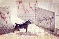 Stigande priser på börsen Royaltyfri Bild