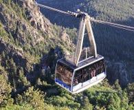 Stigande Tramcar Sandia en maximal för flyg- spårväg Royaltyfria Foton