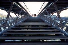 stigande trappa Arkivfoto