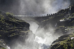 Stigfossen Royalty Free Stock Photography