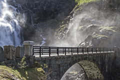 Stigfossen Royalty Free Stock Images