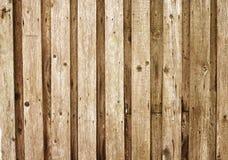stigit ombord gammalt övre trä för staket Arkivfoto