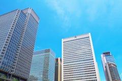 stigning för högt kontor för byggnader arkivbild