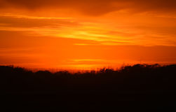 Stigning Sun arkivbilder