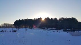 Stigning Sun Royaltyfria Foton