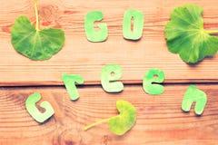 Stijg groene spot stock fotografie