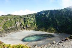 Stijging aan vulkaan stock afbeeldingen