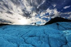 Stijging in Alaska stock foto's