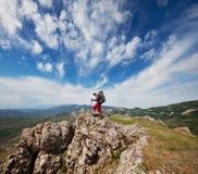 Stijging in de Krim Stock Fotografie