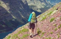 Stijging in Gletsjer royalty-vrije stock foto's