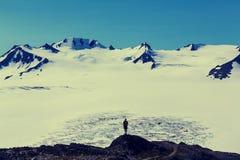 Stijging in Uitgangsgletsjer Stock Afbeelding