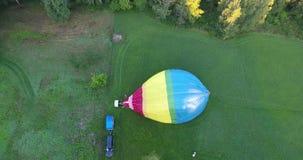 Stijging van de ballon stock videobeelden