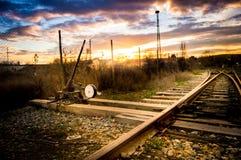 Stijging van zon Stock Foto