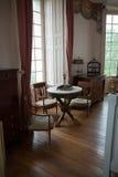 In stijl gehouden ruimten in het kasteel Valencay. royalty-vrije stock afbeeldingen