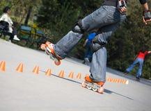 Stijl-slalom Royalty-vrije Stock Fotografie
