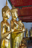 Stijl van het beeld van Boedha Stock Afbeeldingen