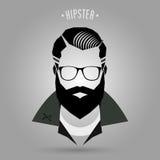 Stijl 02 van Hipstermensen vector illustratie
