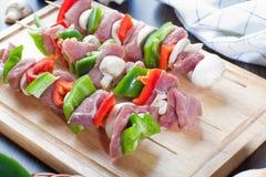 Stikcs de viande Images stock