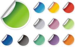 Stikers para o Web Ilustração do Vetor